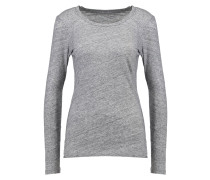 Langarmshirt - heather flannel