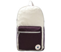 Tagesrucksack purple/natural/cherry