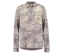 MILITARY Bluse light brown