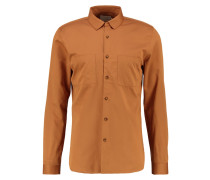 SLIM FIT Businesshemd brown