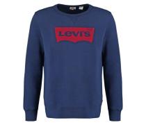 GRAPHIC CREW B Sweatshirt dress blue