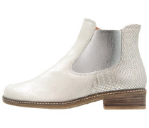 Ankle Boot porzellan/silber