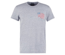 MUSCLE FIT TShirt print grey