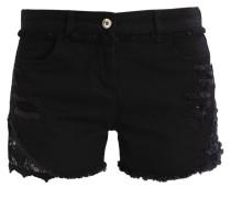 Jeans Shorts nero
