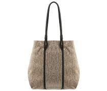 Handtasche soft beige/black