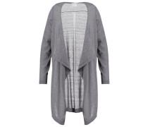 Strickjacke medium grey melange