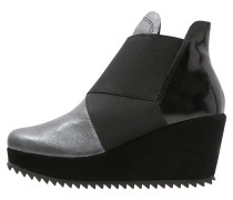 Ankle Boot argento
