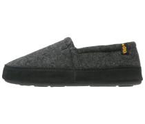 Hausschuh dark grey