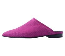 VERA - Pantolette flach - hot pink