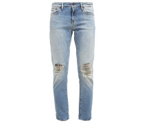 MONROE Jeans Relaxed Fit destroyed denim