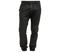 HARUKI Jeans Relaxed Fit black denim