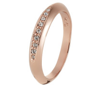FLOW Ring rose goldcoloured