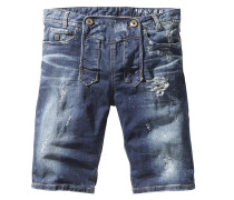 Jeans Shorts flintstone aged