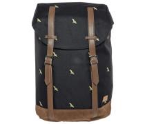 HAMPTON - Tagesrucksack - bird black