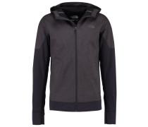 KILOWATT - Softshelljacke - dark grey heather/black