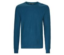 Strickpullover bright blue