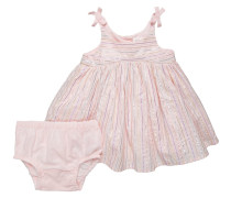 SET - Cocktailkleid / festliches Kleid - pink cameo