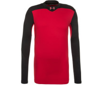 MOCK Langarmshirt red/black