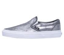 CLASSIC Slipper metallic silver