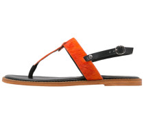Zehentrenner black/orange