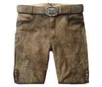 ALOIS - Shorts - braun
