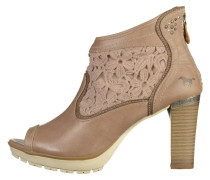 High Heel Stiefelette - natural