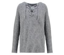THUSNELDA Strickpullover grey