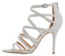 MEEMI High Heel Sandaletten silver