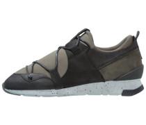 Sneaker low black/khaki