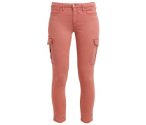 Cargohose dark rose