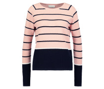SHELBY Strickpullover navy sky/melow rose