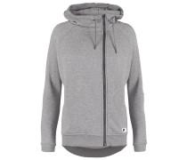 MODERN Sweatjacke carbon heather/dark grey/black oxidized