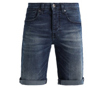 DENZEL - Jeans Shorts - blue denim