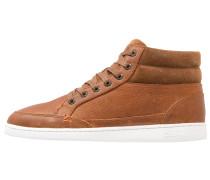 MARK Sneaker high cognac