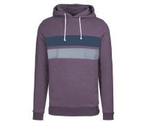 LEON Sweatshirt dark plum melange