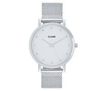 PAVANE - Uhr - silver-coloured/white