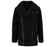 KREST Wollmantel / klassischer Mantel black