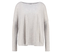 Strickpullover gris chine clair