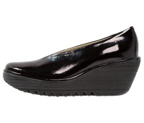 YAZ Plateaupumps black