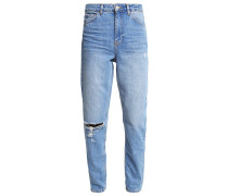 Jeans Relaxed Fit blau