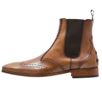 SCARFACE Stiefelette tan/red