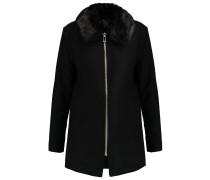 JAMES Wollmantel / klassischer Mantel black