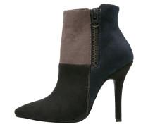 Ankle Boot black/navy/khaki