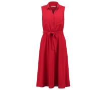 Blusenkleid - chinese red