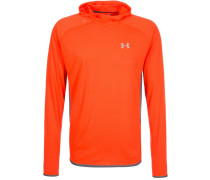 STREAKER Kapuzenpullover phoenix fire/heather grey/reflective