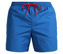 Badeshorts - sapphire blue/red