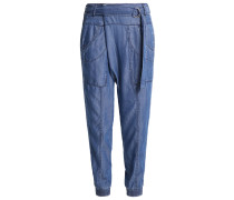 TRINA Stoffhose light blue denim