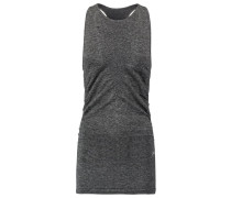 VISION - Top - dark grey melange/metallic