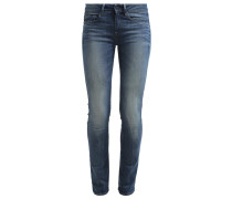 GStar 3301 CONTOUR HIGH STRAIGHT Jeans Straight Leg sivo superstretch
