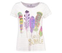 T-Shirt print - almond